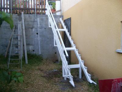 Ferronnerie d 39 art la r union au juste prix - Escalier en fer exterieur ...