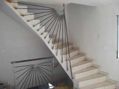 Ferronnerie d 39 art la r union au juste prix for Construire un escalier en bois interieur